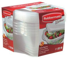 """Rubbermaid """"the best"""" for storing"""