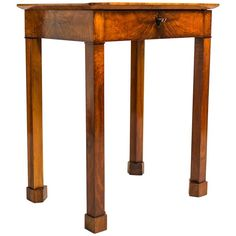 Biedermeier Side Table Danhauser Concept, Austria circa 1830 | From a unique collection of antique and modern side tables at https://www.1stdibs.com/furniture/tables/side-tables/