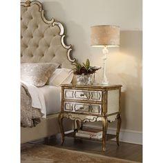 Hooker Furniture Sanctuary 2 Drawer Nightstand & Reviews | Wayfair
