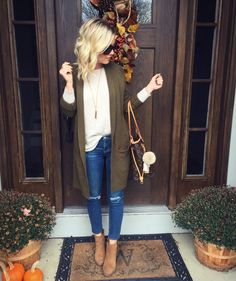 Shop – The Styled Duo  Cardigan || Style blogger || Shop my look || Nordstrom || Old Navy || Designer Jeans || Steve Madden