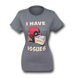Deadpool Has Issues Women's T-Shirt