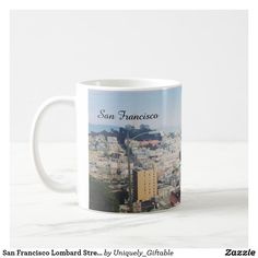 San Francisco Lombard Street Photo Coffee Mug