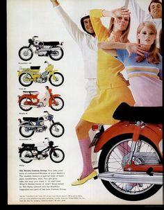 Honda (1967) Japanese but plenty on European streets