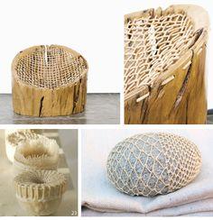 Hugo Franca Gimbya Chair - Pequi wood and woven leather