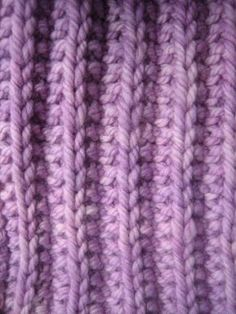 2 Row reversible scarf..