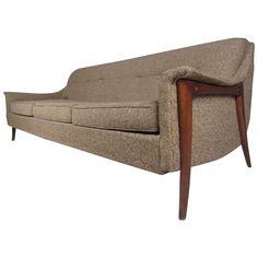 Three-Seat Danish Sofa by DUX 1