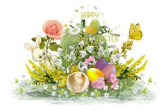 """""""My Easter Bonnet"""" by jojona-1 ❤ liked on Polyvore featuring art"""