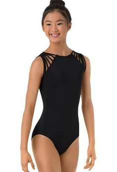 2280a27dfd Beautiful Black Leotards for Back to Ballet