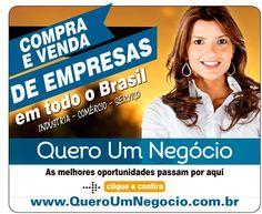 Quero Um Negocio.com.br       Compra e Venda de Empresas no Brasil  Rua Tupi 279 ap 63