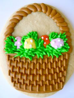 Easter cookies -by Oh, Sugar! Events http://ohsugareventplanning.blogspot.com/