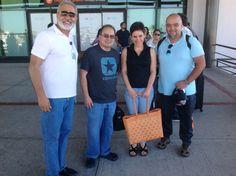 Clara Luz, Ernesto y Jesús