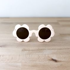 VANILLA TODDLER SUNGLASSES Flower Sunglasses, Kids Sunglasses, Dark Shades, Flower Shape, Shoe Shop, Sun Protection, Baby Accessories, Sadie, Shoe Collection