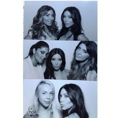 Pin for Later: Kim Kardashian Is a Blissful Bride-to-Be at Her Wedding Shower  Pals Larsa Pippen, Rachel Roy, Brittny, and Simone Harouche all got in on the fun. Source: Instagram user kimkardashian