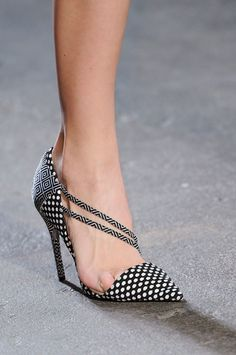 Patterned stiletto at Christian Siriano Fall 2014