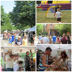 Corn Hill Arts Festival. Hundreds of artisans, live music, food and kids activities. Rochester, NY #VisitROC