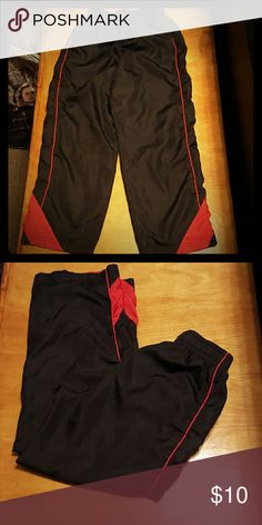 Boys athletic pants Highland outfitters boys athletic pants. Worn very little. My son outgrew before he could wear them much. Bottoms Sweatpants & Joggers