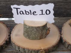 sale 50 rustic place card holders tree card holders place holders rustic wedding