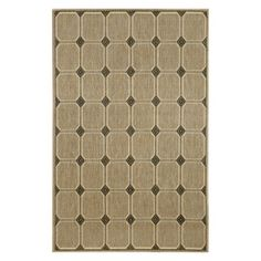 Liora Manne Import Co Terrace Tile Indoor / Outdoor Rugs Silver - TER80174458
