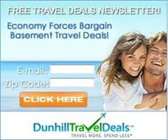 Dunhill Travel Deals -Travel More. Spend Less! Save Up To 70% On Vacations, Cruises, Airfare & More! FREE Subscribe!