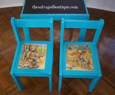 story time table set | The Salvaged Boutique