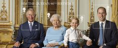 Royal family pose for postage stamp: Queen's 90th birthday - Good Housekeeping