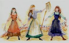 Photo Flash: Westchester Broadway Theatre's FIDDLER ON THE ROOF Costume Sketches