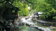 Tanigawa hot springs Jaoan