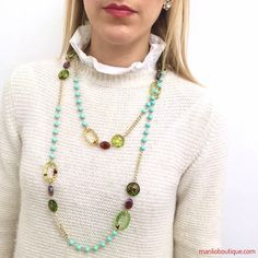 DOLMAN manlioboutique.com/dolman #jewelry #necklaces