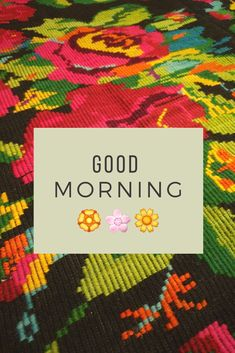 Our rugs are always a source of joy and hapiness. Quote of the day, hello beautiful message on a rug. Create Yourself, Finding Yourself, Wool Carpet, Hello Beautiful, Good Vibes Only, Quote Of The Day, Good Morning, Hand Weaving, Vintage Items