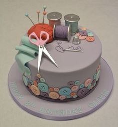 Sewing and Needlework Cake