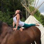Yoga with Horses - SMR Yoga Retreat Center