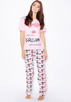Shop Outdoor prints Pyjama Set - Women Shoes, Clothes, Accessories, Bags in UAE