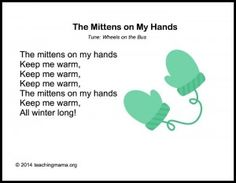 The Mittens on My Hands