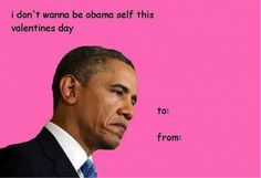 Whether you're single or in a loving relationship, everyone can agree that memes are the best part about Valentine's Day. Kick off your Valentine's Day with these adorable and funny Valentine's Day memes about love and February Valentines Day Cards Tumblr, Trump Valentines, Valentine Cards, Naughty Valentines, Valentine Ideas, Valentines Pick Up Lines, Funny Valentines Cards For Friends, Funny Valentine Memes, Funny Shit