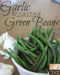 My husband and I make aconscious effort to eat more green vegetables than starchy vegetables. Garlic Roasted Green Beans are one of our favorite ways to cook green beans to give them just a l...