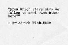 Nietzsche fallen stars