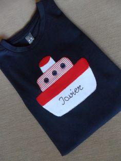 la sastrecilla valiente: camiseta barco niño