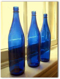 Blue Bottles by Kurlylox1, via Flickr