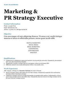 bold career resume template