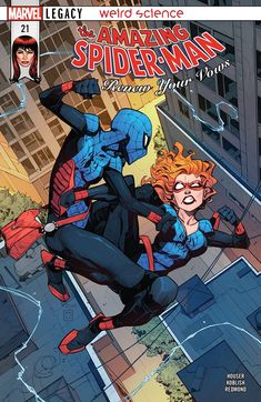 Amazing Spider-Man: Renew Your Vows - Comics by comiXology Marvel Comic Books, Marvel Art, Marvel Dc Comics, Marvel Characters, Marvel Heroes, Comic Books Art, Book Art, Comic Art, Spiderman Art