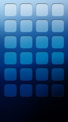 ↑↑TAP AND GET THE FREE APP! Shelves Icons Ombre Simple Blue HD iPhone 6 Wallpaper