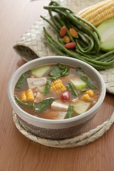 Sayur asem; This mixed vegetable soup