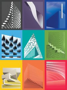"Gallery of These BIG-Inspired Posters Highlight the Evolving ""Syntax"" in Architecture - 2"