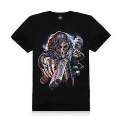 Metal Empire T-shirt 3D Print Novelty-Gun - FixShippingFee- - TopBuy.com.au