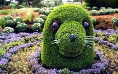 topiary creature
