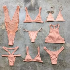 "Wanna look naked? Shop our new Spring 16 color ""naked "" in tons of our favorite styles...  #MINIMALEANIMALE styles starting at $75"