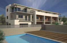Edificio de viviendas adosadas en Castelldefels