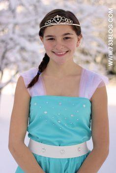 Disney's FROZEN- Elsa Inspired Dress Pattern