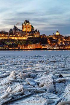 Québec City de nuit