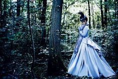 Keira Knightley, photographed by Mario Testino, Vogue, October 2012